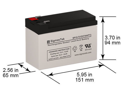 Upsonic IH 5000 Compatible Replacement Battery Kit