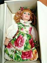 "Vintage Royal Albert Old Country Roses 16"" Bisque Porcelain Doll - $32.73"