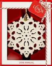 Lenox 2018 Snow Fantasies Snowflake Christmas Ornament BNIB/SDS - $16.88