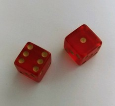 1961 Vintage Monopoly Game Genuine Parker Brothers Game Dice (1) pair GUC - £5.08 GBP
