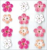 Jolee's Boutique Dimensional Cherry Blossom Cabochon Stickers