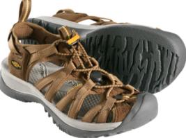 Keen Whisper Größe US 7 M (B) Eu 37.5 Damen Sport Sandalen Schuhe Kaffee... - $58.54