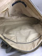 Erica Anenberg Grey Leather Cross Body Satchel Shoulder Bag image 3