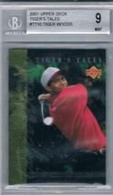 2001 Upper Deck Tiger's Tales #TT10 Tiger Woods Bgs 9 - $24.70