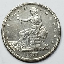 1877S Trade Dollar $1 Silver Coin Lot 519-8