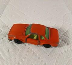 1976 Matchbox Lesney Superfast No 45 BMW 3.0 CSL Orange Diecast - $7.00