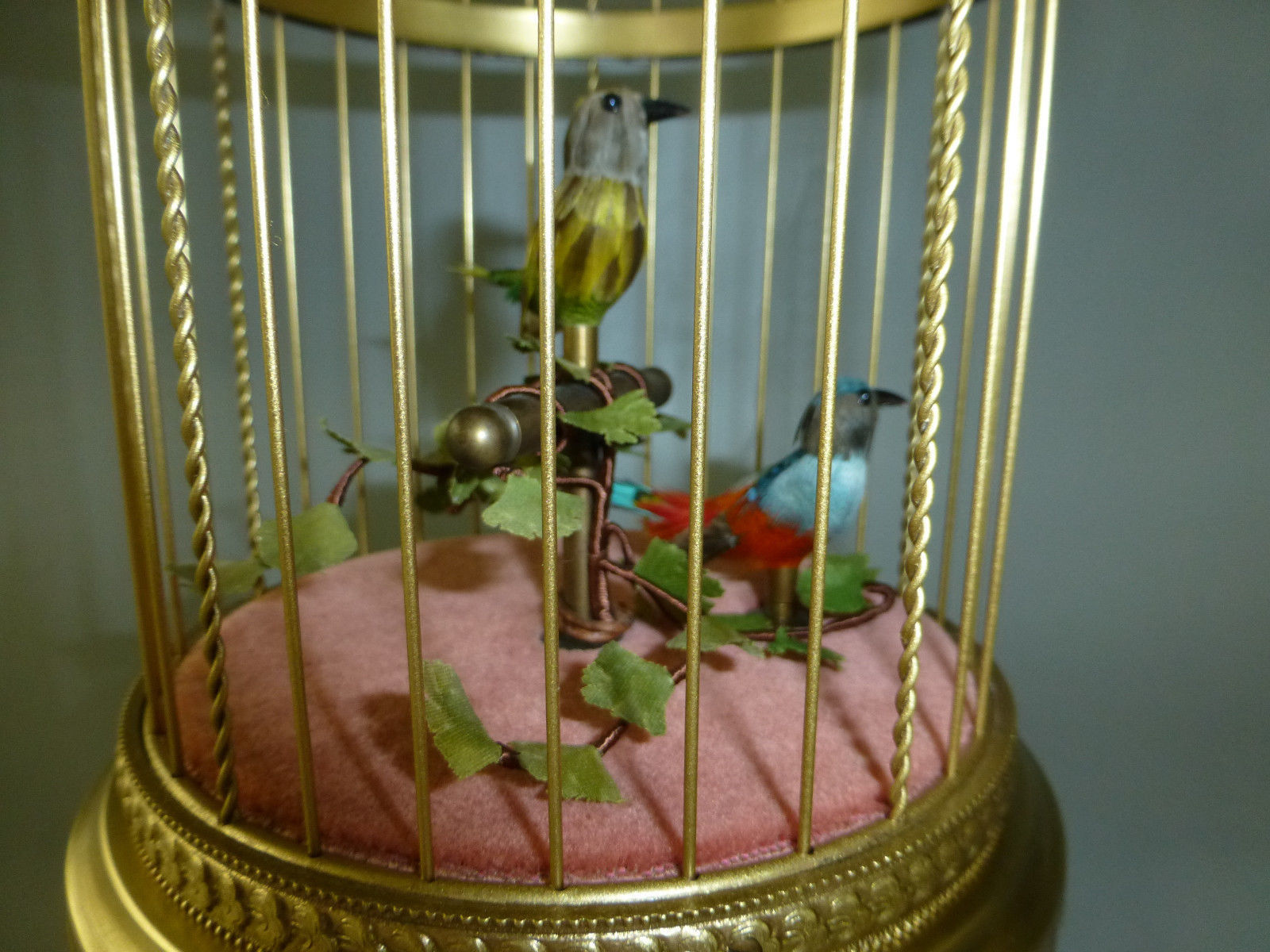 Vintage Swiss Reuge Double Singing Birds and 50 similar items