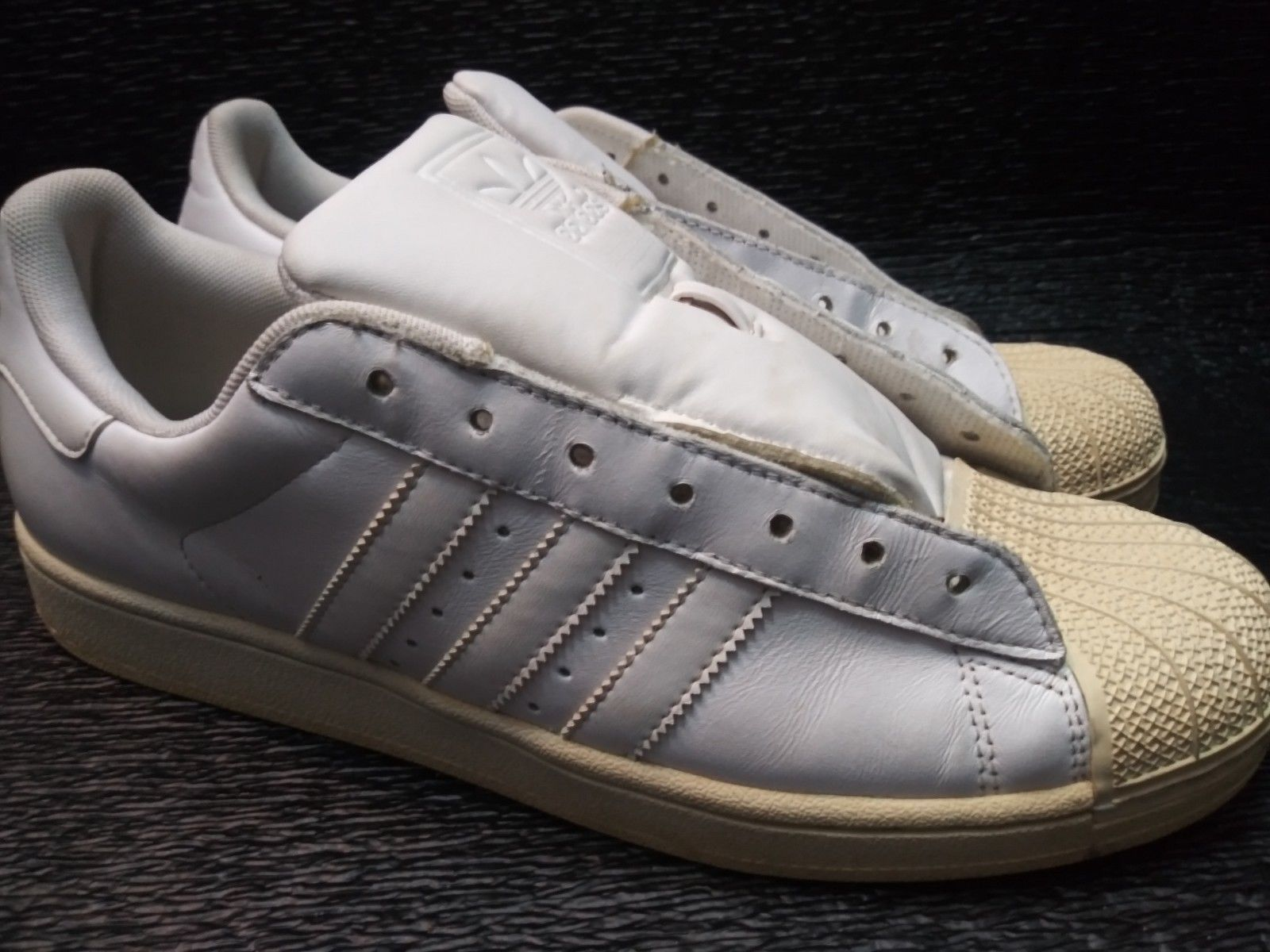 7d47529df Adidas Superstar S Toe Shoes Size 10 And 48 Similar Items