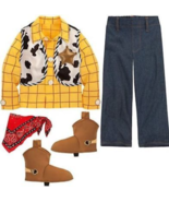 New Disney Store Toy Story Woody Costume for Boys Sz 3T - $49.99