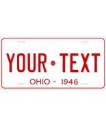 Ohio 1946 License Plate Personalized Custom Car Auto Bike Motorcycle Moped - $10.99 - $16.93