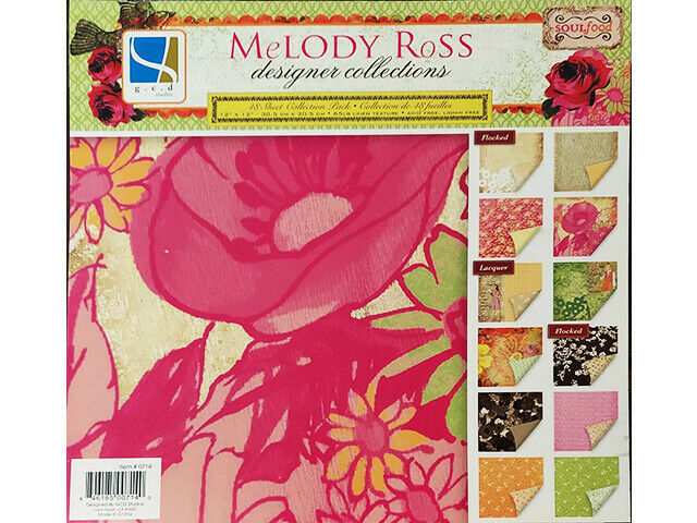 GCD Studios Melody Ross Soul Food Collection Cardstock Paper Pad #1811