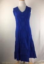 Marc New York Andrew Marc Women's Longsleeve Blue Sheath Dress Size Small  - $24.86