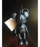 NWT Coach x Disney F59152 Mickey Mouse Doll Bag Charm Keychain Gunmetal - $125.00