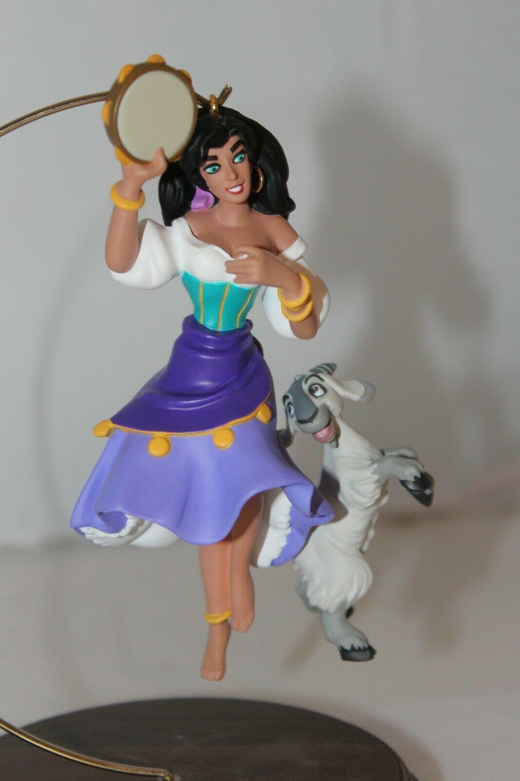 Hallmark Keepsake - Esmeralda and Djali - 1996  - MIB image 2