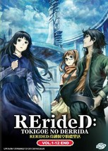 RErideD: Tokigoe no Derrida Complete Set (1-12 End) English Dubbed