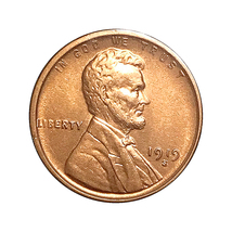 1919 S Lincoln Wheat Cents - Gem BU / MS / UNC - $125.45