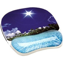 Fellowes Photo Gel Mouse Pad Wrist Support - Tropical Beach  - $28.00