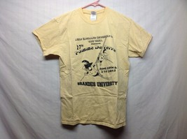 27th Pomme De Terre Novelty Fencing Yellow T Shirt Sz M