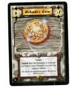 Legend of the Five Rings L5R CCG TCG Kitsuki's Coin  - $6.00