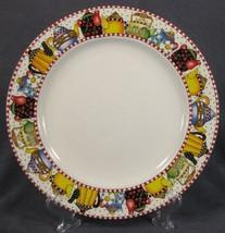 Mary Engelbreit AFTERNOON TEA Dinner Plate(s) Sakura Stoneware Teapots M... - $21.95
