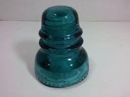 Vintage HEMINGRAY Nr.40 Glass Electrical Insulator (Blue, Made in USA) - $19.75