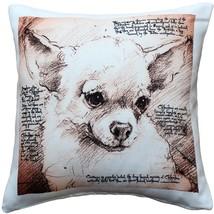 Pillow Decor - Chihuahua 17x17 Dog Pillow - $965,50 MXN
