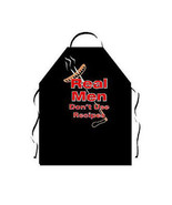 Attitude Apron Real Men Don't Use Recipes BBQ  Cookout Father Dad Bar B ... - $24.99