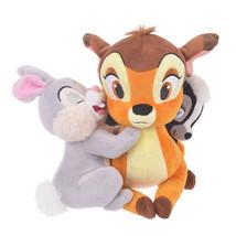 Disney Store JAPAN Bambi and Thumper Flower Hug & Smile Plush doll  - $88.11