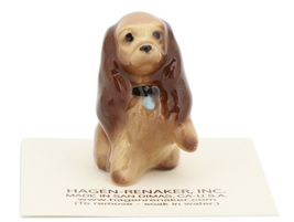 Hagen Renaker Miniature Dog Cocker Spaniel Mama Ceramic Figurine image 6