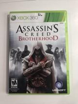 Assassin's Creed: Brotherhood (Microsoft Xbox 360, 2010) Sb51 - $8.90