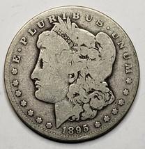 1895S MORGAN SILVER $1 DOLLAR Coin Lot# 519-40