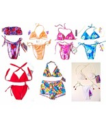 Sz S-L - NWT Jamaican Style Halter Bikini Swimsuits & Swimsuit Separates - $12.82+
