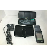 3COM Palm Pilot IIIx PDA, Dock Stylus PalmGlove Case Organizer keyboard ... - $28.71