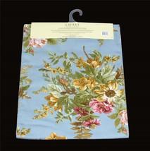 Ralph Lauren BRITTANY Blue Shabby Floral 15 x 72 Reversible Tablerunner NIP DISC - $36.99