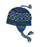 Everest Designs Unisex Handmade YETI Earflap Wool CAP, Fleece Lining, Ki... - $52.00