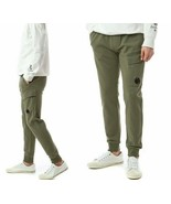 C.P.Company Men's Pocket Lens Cargo Pants NEW AUTHENTIC Olive 08CMSP176A... - $149.99