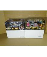 Elvis Presley Matchbox 2001 Favorite Car & 2003 Private Jet Planes Colle... - $49.49