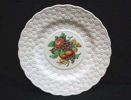 Old Vintage Alden by Spode Luncheon Plate #8 Ring Fruit Daisy Copeland England - $19.79