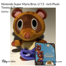 Nintendo Super Mario Bros. U 7.5 inch 1-6 Series Small Plush Toy Timmy and Tommy - $3.99
