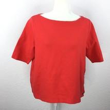 Lauren Ralph Lauren Women Size XL 3/4 Slevee Sweater Shirt Boat Neck Lin... - $13.64
