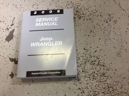 2006 Jeep Wrangler Service Shop Workshop Repair Manual Factory Book Oem Mopar - $200.92