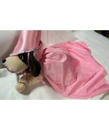 Pet Small Dog Cat Renaissance Pink Princess Costume Cape Hat - $9.92