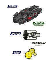 Bite Choicar Black Howling Racing Mini Car Vehicle Toy image 5