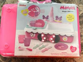 Minnie's Happy Helpers Magical Sink Set 14pc Disney Junior Minnie Mouse - $34.64