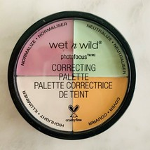 Wet n Wild Color Commentary #349 Photo Focus Color Correcting Palette NEW - $7.38
