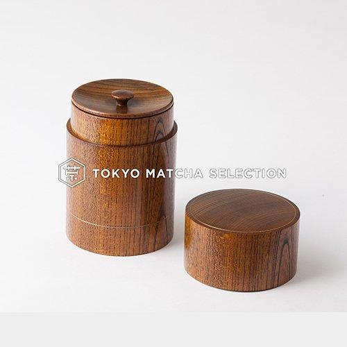TOKYO MATCHA SELECTION - Oshima : Premium Urushi Chazutsu 2 size - Japan Lacq... - $282.21
