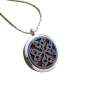 Aromatherapy Necklace Locket Essential Oil Clay Inside - €20,71 EUR