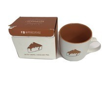 Open Box SALTED CARAMEL CHEESECAKE Mug Cake Ready About Face Designs - $10.79