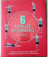 6 Minute Morning Arms Hardcover Illustrated Book Exercise Routine Workou... - $6.77