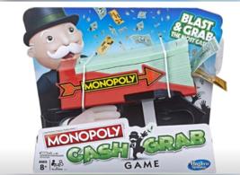 Monopoly Cash Grab, Hasbro Gaming-NEW in original manufacturer packaging! - $22.21